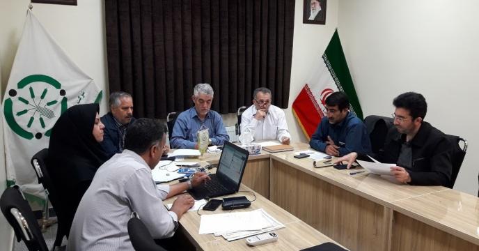 جلسه بازگشایی پاکتهای شرکت کنندگان در مناقصه امور خدماتی و پشتیبانی در استان آذربایجان شرقی از طریق سامانه ستاد
