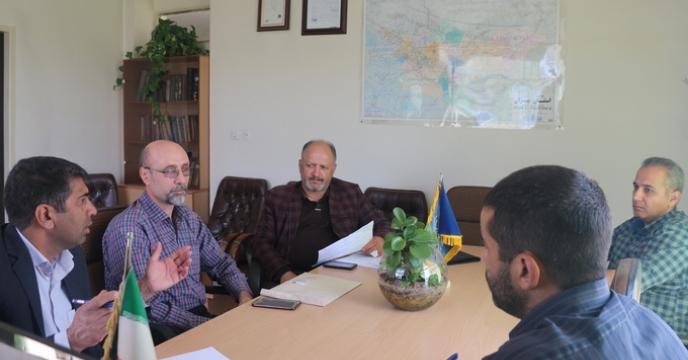 نشست برنامه ریزی جذب سهمیه کودی شهرستان فیروزکوه