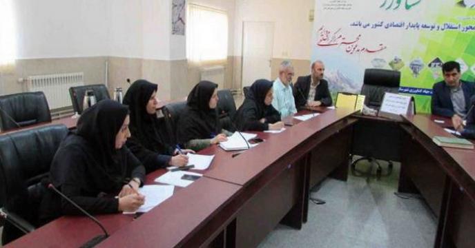 جلسه هماهنگی و توجیهی پایش نهاده های کشاورزی در استان مازندران