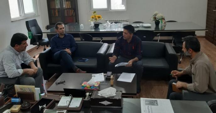 جلسه ای هم اندیشی با همکاران در استان گلستان