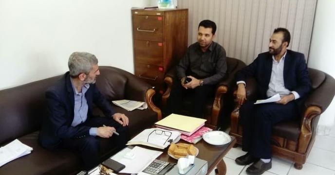 جلسه حمل و نقل کود شیمیایی شرکت خدمات حمایتی کشاورزی استان فارس