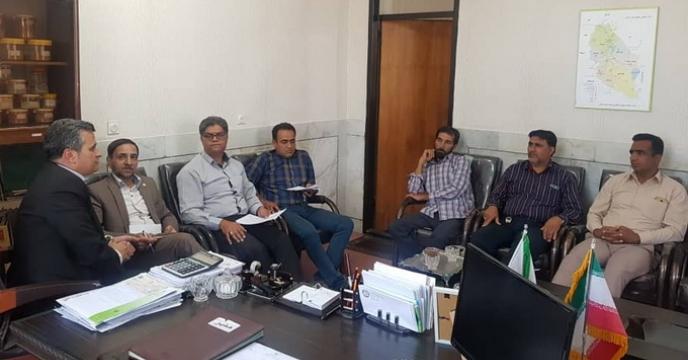 برگزاری جلسه برنامه ریزی عملیات حمل و نقل نهاده ها و رفع مشکلات