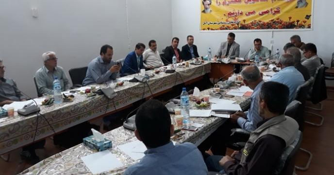جلسه کمیته فنی بذر استان مازندران