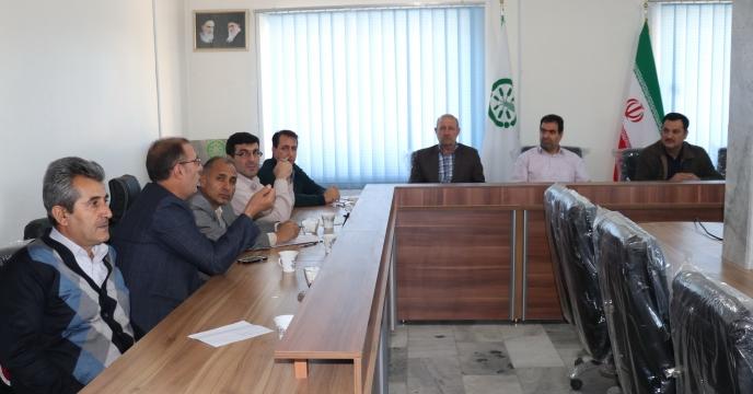 جلسه تشکیل کمیته پایش و هماهنگی اکیپهای نظارتی توزیع کود