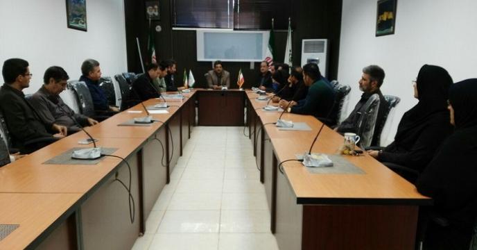 اولین جلسه هماهنگی پرسنل شرکت خدمات حمایتی استان لرستان با سرپرست جدید شرکت
