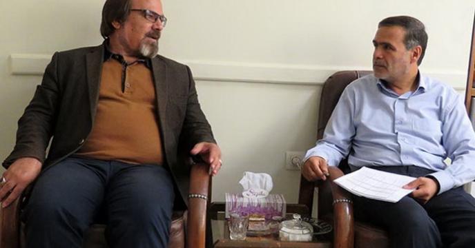 جلسه پیگیری مسائل حقوقی در استاتن همدان برگزار شد