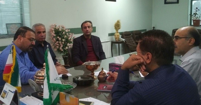 جلسه راهکارهای نمونه برداری کوددراستان کرمان