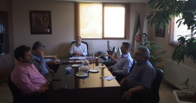برگزاری جلسه شورای هماهنگی در شرکت خدمات حمایتی کشاورزی استان خراسان رضوی