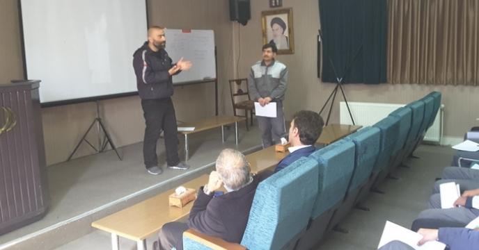 برگزاری جلسه توجیهی و آموزشی نیروهای حفاظت فیزیکی شرکت خدمات حمایتی کشاورزی خراسان رضوی