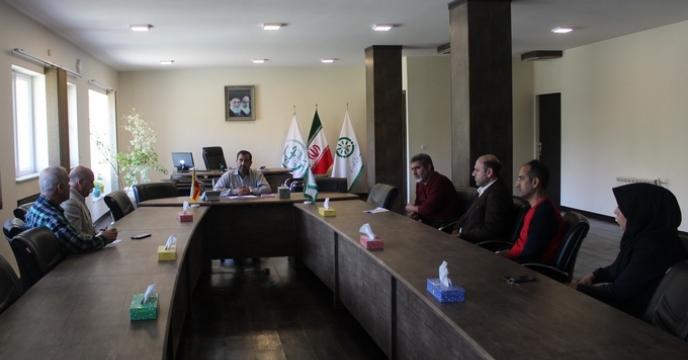 گزارش جلسه مدیر یت با کارکنان واحد امور مالی مجتمع شیمیائی آبیک