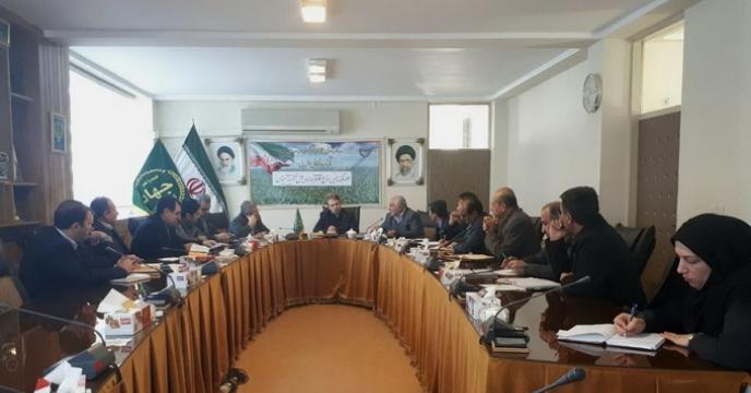 جلسه کمیته تامین نهاده ها در استان آذربایجان غربی