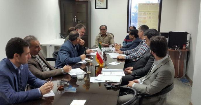 جلسه ستاد تغذیه گیاهی سازمان جهاد کشاورزی استان کرمانشاه