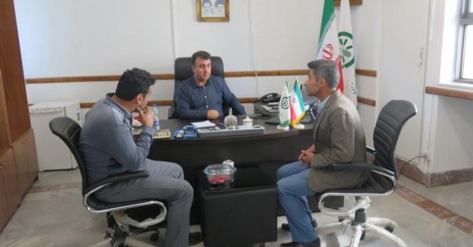 کارگزاران صف مقدم شرکت خدمات حمایتی کشاورزی در استان مازندران