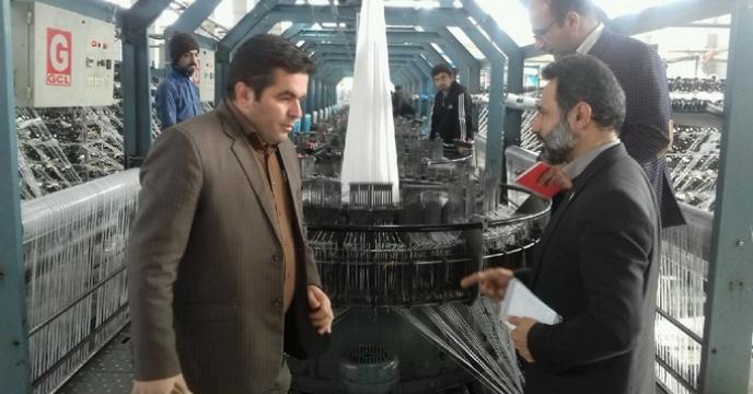 بازدید از  کارخانه کیسه پویا در سرخنکلاته گرگان