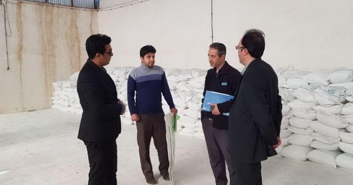 بازدید دوره ای از کارخانه جات تولید کود طرف قرارداد شرکت در خراسان رضوی