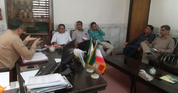 جلسه هماهنگی امور حمل و نقل انواع کودهای شیمیایی
