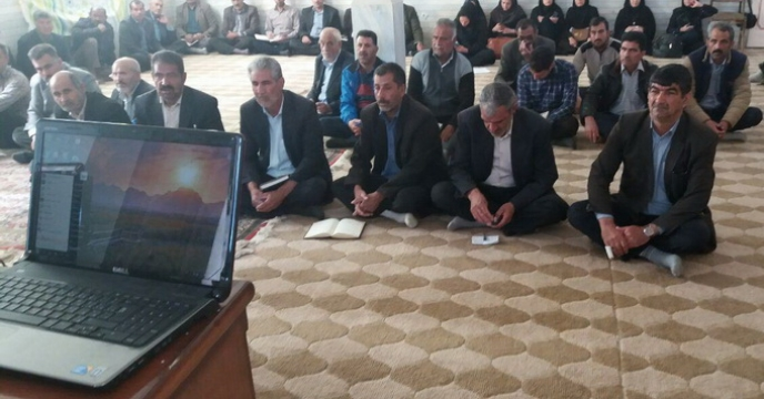 برگزاری کلاس آموزشی، زمان ومیزان مصرف کودهای شیمیایی استان کرمان