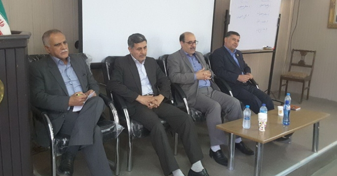نشست صمیمی مدیریت و همکاران شرکت خدمات حمایتی کشاورزی استان خراسان رضوی