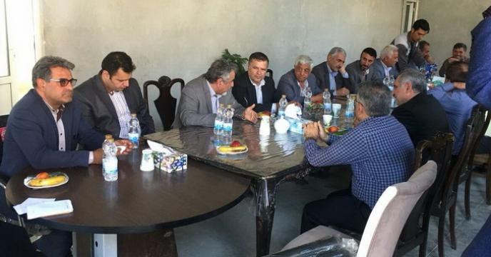 حضور معاون و مشاور وزیر جهاد کشاورزی در استان خراسان شمالی