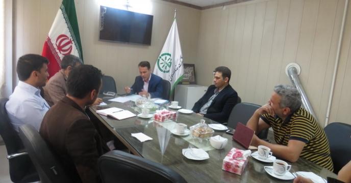 برگزاری جلسه توجیهی برای پیمانکاران شرکت کننده در مناقصه، خراسان شمالی