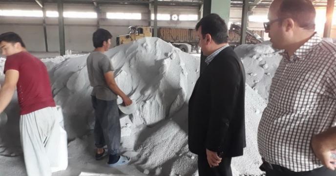 کیسه گیری 6300تن کود فله در استان مازندران