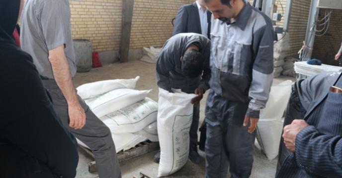 400 تن کودشیمیایی سولفات پتاسیم گرانوله آماده تحویل شد.