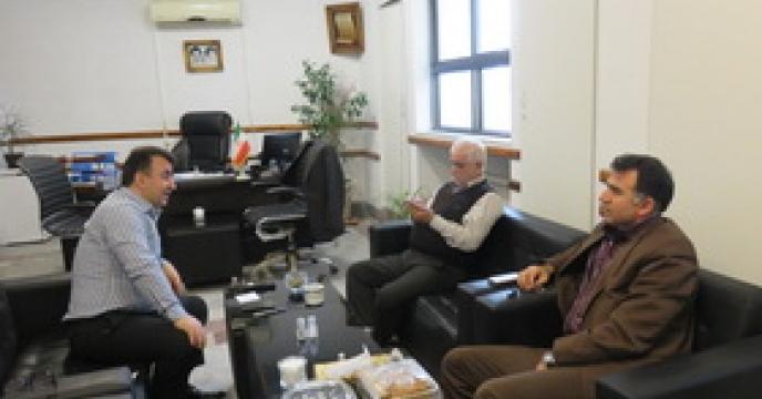 دیدار رئیس سازمان مازندران با مدیر شرکت خدمات حمایتی کشاورزی استان