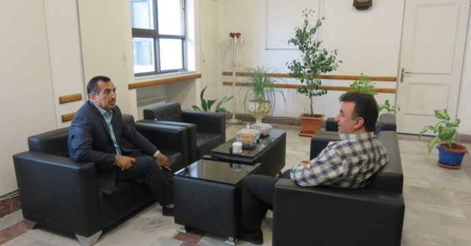دیدار معاون بهبود تولیدات گیاهی سازمان جهاد کشاورزی مازندران