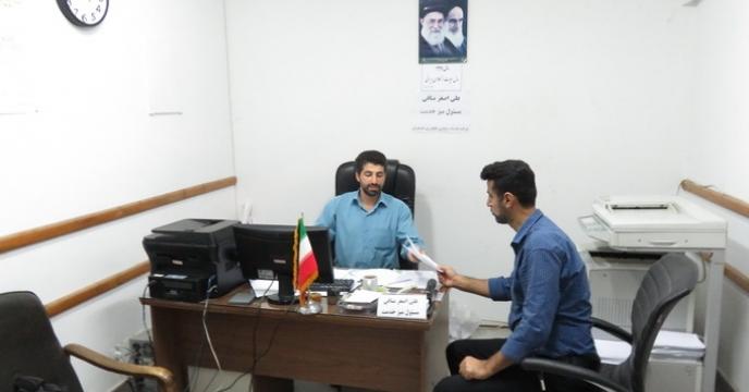 راه اندازی میز خدمت در شرکت خدمات حمایتی کشاورزی استان مازندران