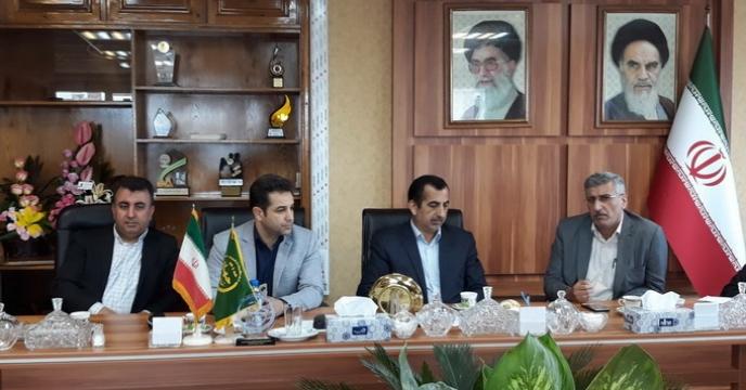 دیدار رئیس سازمان جهاد کشاورزی با مدیران مازندران