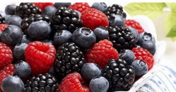 تولید سالانه بیش از 195 هزار تن میوه ریز در استان مازندران