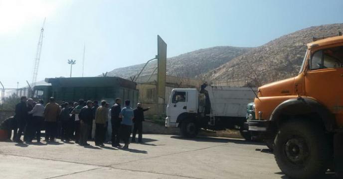 حضورنمایندگان شرکت خدمات حمایتی کشاورزی استان فارس در پتروشیمی شیراز