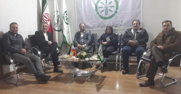 بازدید دکتر پوررمضان مدیرمجتمع شیمیایی آبیک از نمایشگاه تخصصی کشاورزی تهران