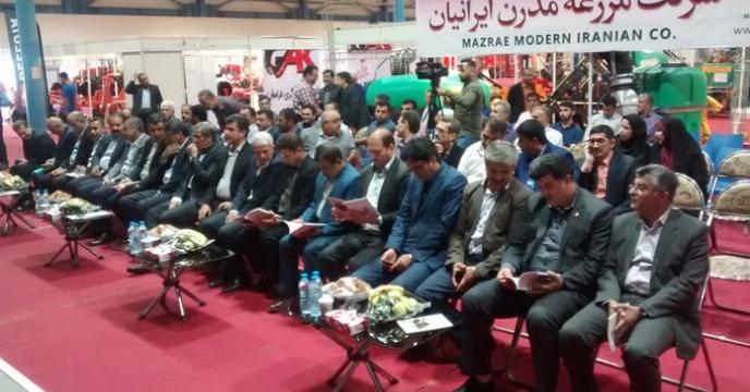 حضور سرپرست شرکت خدمات حمایتی کشاورزی استان گلستان در  افتتاحیه چهارهمین نمایشگاه تخصصی ماشین های کشاورزی