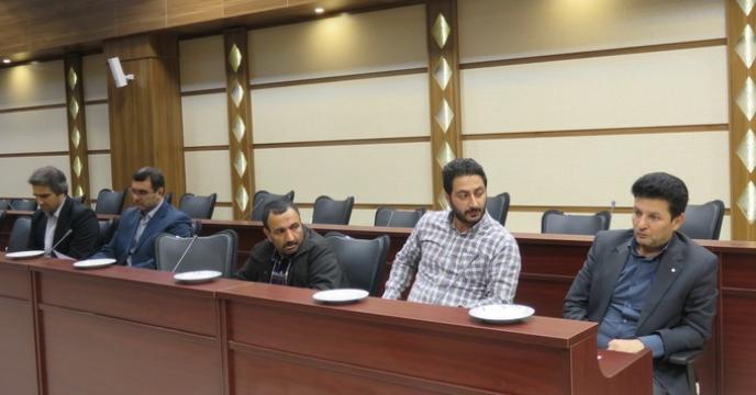 نشست فرماندهان بسیج ادارات مرکز مازندران