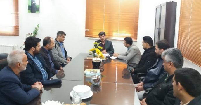 نشست مدیر شرکت خدمات حمایتی کشاورزی استان با حضور مسئول حراست و نیرو های حفاظت فیزیکی در استان گلستان