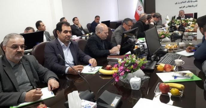 نشست مشترک مسئولین بخش خصوصی و دولتی فعال در بخش کشاورزی استان آذربایجان غربی