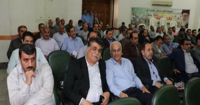 برگزاری نشست صمیمی رئیس سازمان با همکاران در شرکت خدمات حمایتی کشاورزی استان مازندران