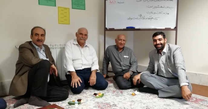 برگزاری گرامیداشت عید سعید غدیر خم و هفته دولت در محل شرکت خدمات حمایتی کشاورزی استان قزوین
