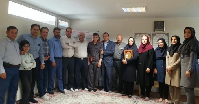 مراسم تجلیل از همکاران بازنشسته سال 97 استان قزوین