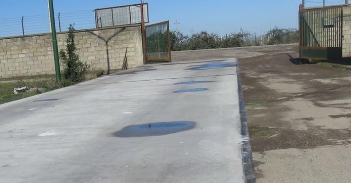 راه اندازی و بکارگیری باسکول 60 تنی در شرکت خدمات حمایتی کشاورزی استان مازندران