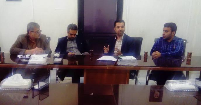 برگزاری جلسه روند توزیع کود های شیمیایی پایه