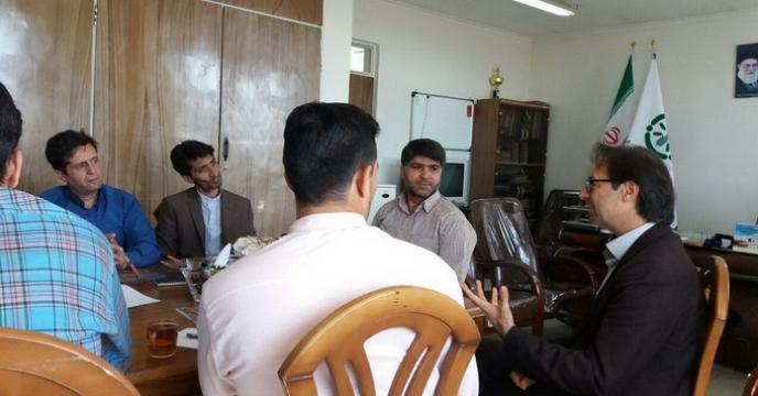 بازدید مدیریت اموربازاریابی و امورمشتریان از استان سمنان