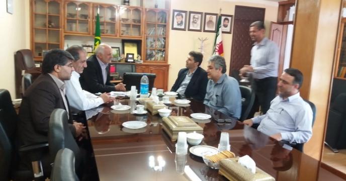 بازدید مهندس علیزاده، عضومحترم هیات مدیره و معاون اموربازرگانی از استان سمنان