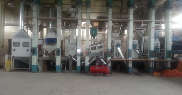 بازدید از کارخانه شالیکوبی استان گیلان