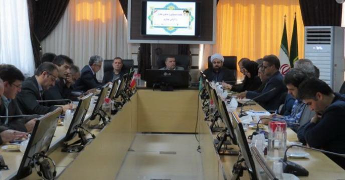 جلسه شورای هماهنگی سازمان جهاد کشاورزی خراسان شمالی برگزار شد.