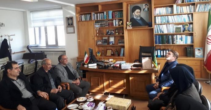 تقدیم پیام تبریک مدیرعامل شرکت به ریاست جدید سازمان جهاد کشاورزی استان