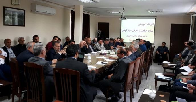 کارگاه آموزشی تغذیه گیاهی و معرفی سبد کود، آذربایجان شرقی