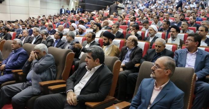 مراسم تودیع و معارفه رییس سازمان جهاد کشاورزی استان قم