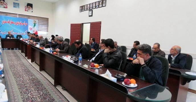 مراسم تودیع و معارفه مدیر شرکت خدمات حمایتی کشاورزی استان همدان
